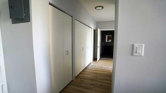 Finished apartment interior at Ft. Washington