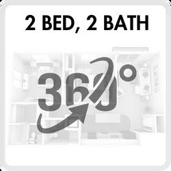 2 bedroom virtual tour Eden Roc Apartments