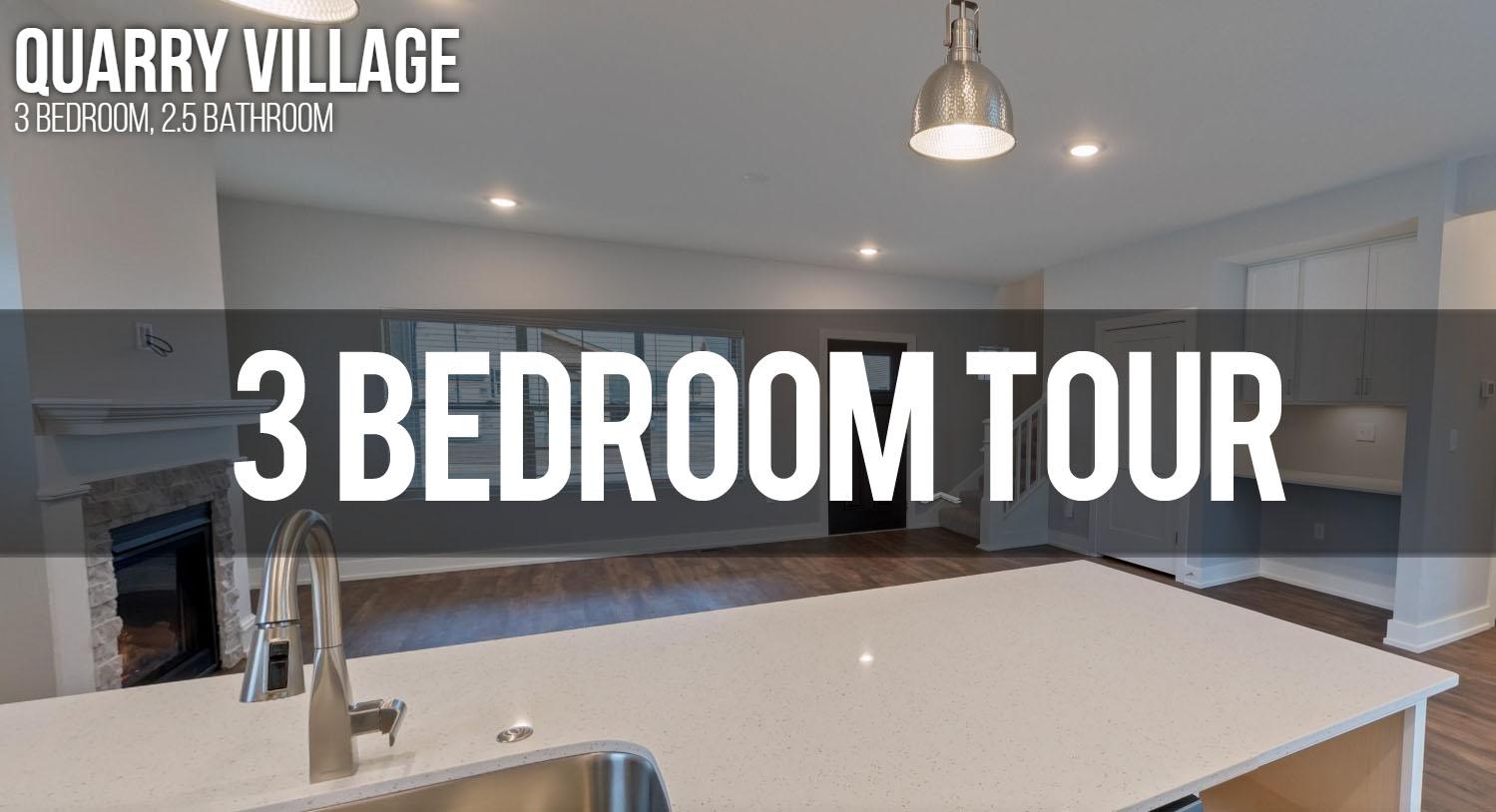 3 bedroom virtual tour Quarry Village Apartments