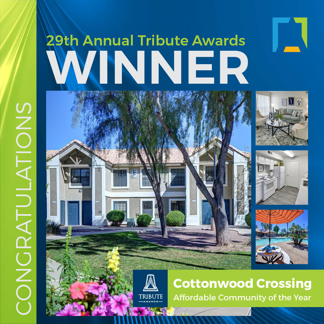 Cottonwood Crossing voted best affordable community of the year