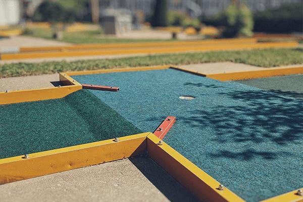 mini golf at Bogey's Family Fun Center