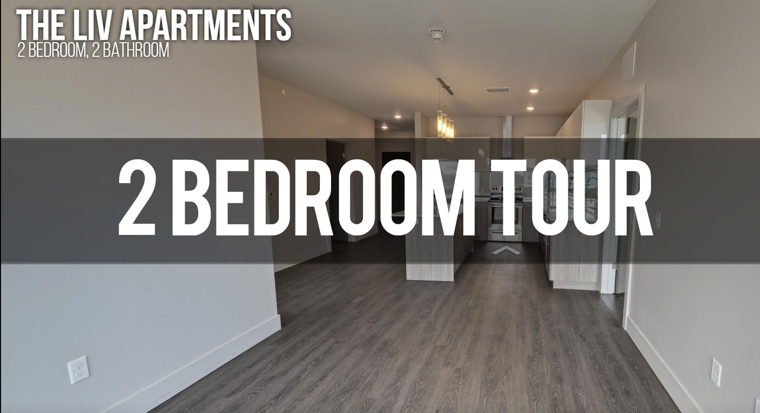 Virtual Tour of 2 bedroom, 2 bathroom at The Liv Apartments