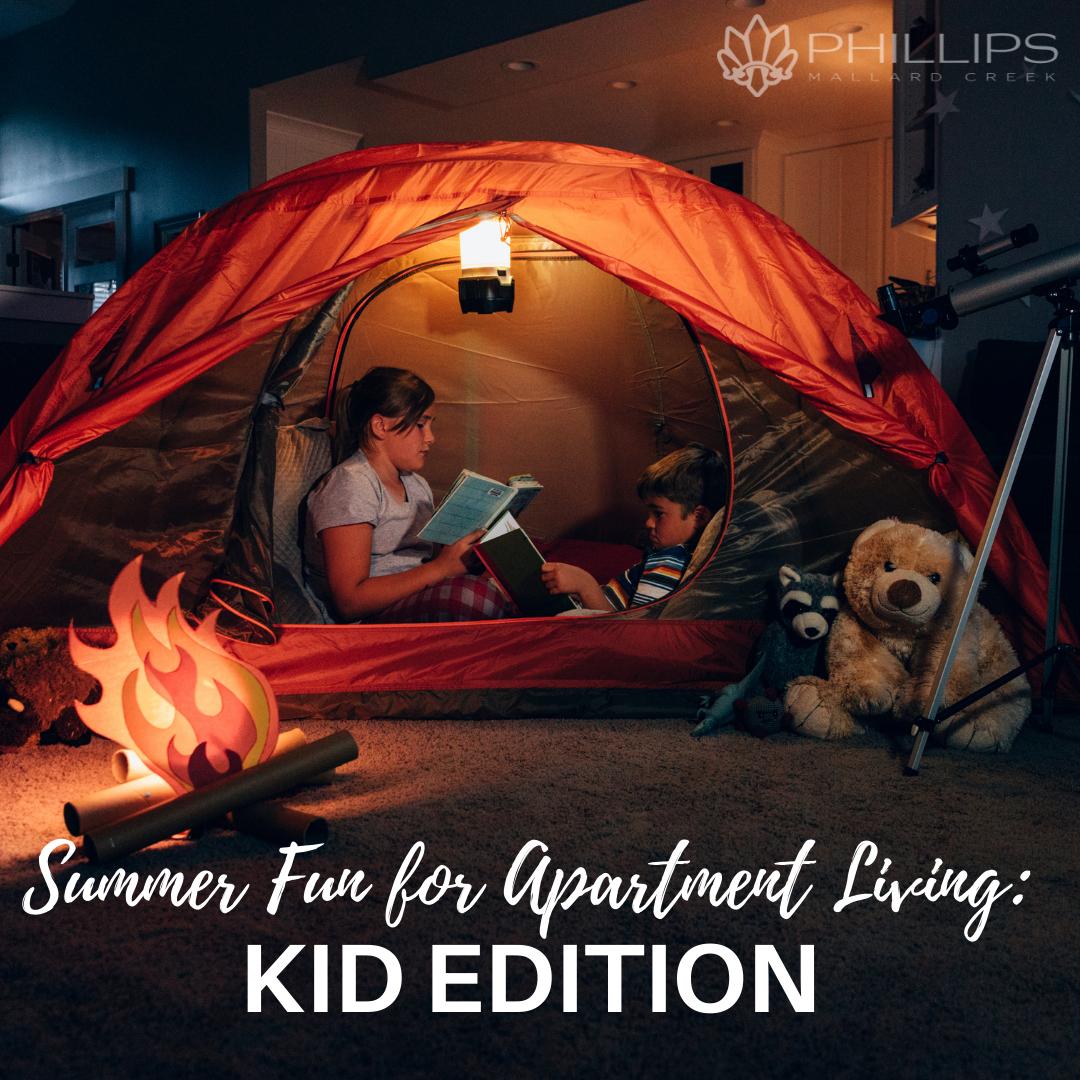 Summer Fun for Apartment Living: Kid Edition | Phillips Mallard Creek