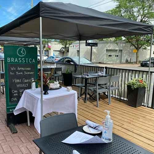 Brassica Ottawa patio