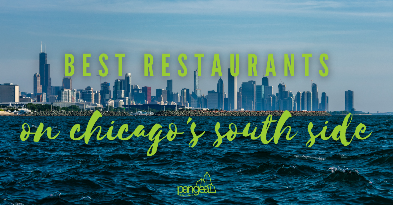 picture of lake shore on chicago's south side; best restaurants on chicago's south side
