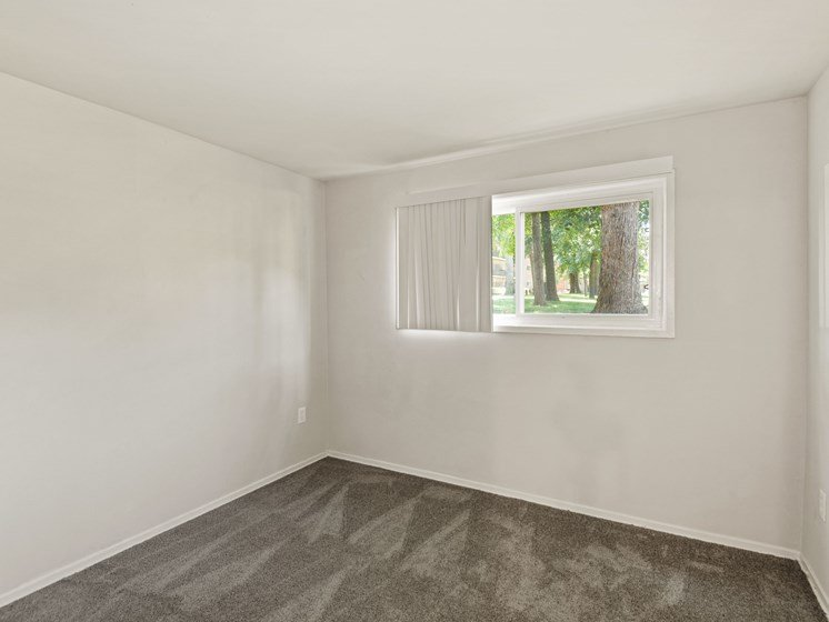 Bedroom with small window