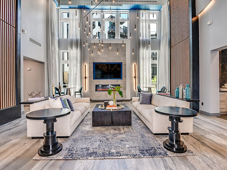 Resident Lounge at Axio at Carillon, Saint Petersburg