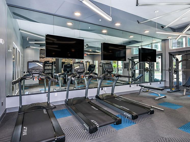Cardio Machines In Gym at Axio at Carillon, Saint Petersburg