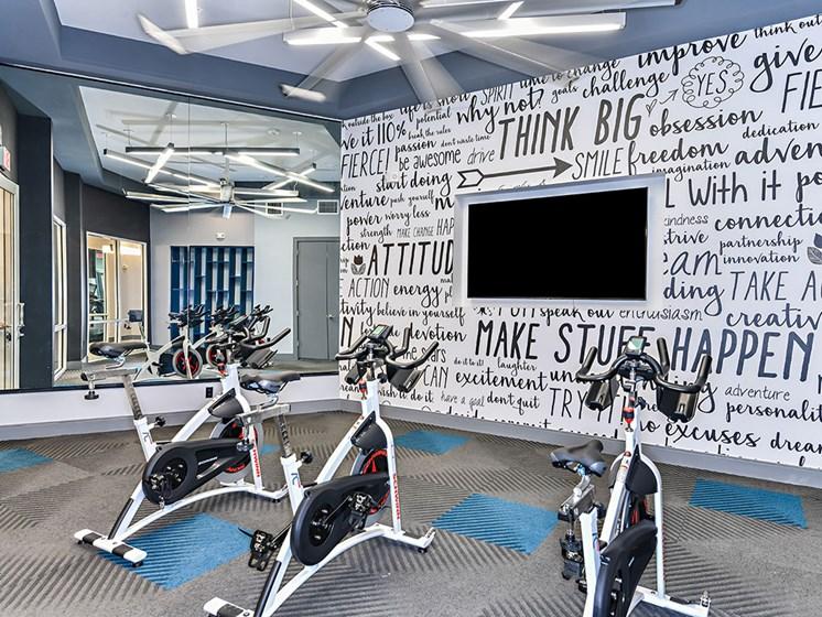 Peloton Bike And Training Space at Axio at Carillon, Saint Petersburg, Florida