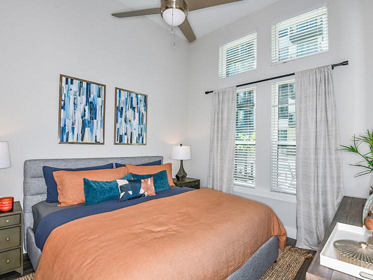 Bedroom With Expansive Windows at Axio at Carillon, Saint Petersburg, Florida