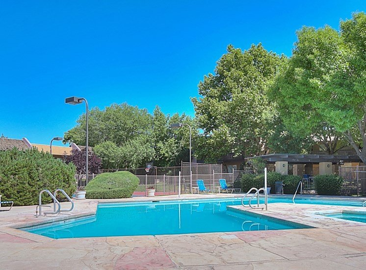 Resort-Style Pool at Eagle Point Apartments, NM, 87111