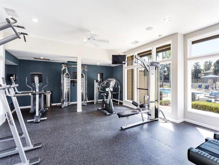 Two Level Fitness Center at The Ashton, Corona