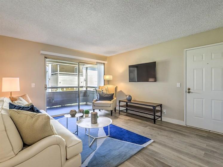 Modern Living Room at The Ashton, California, 92879