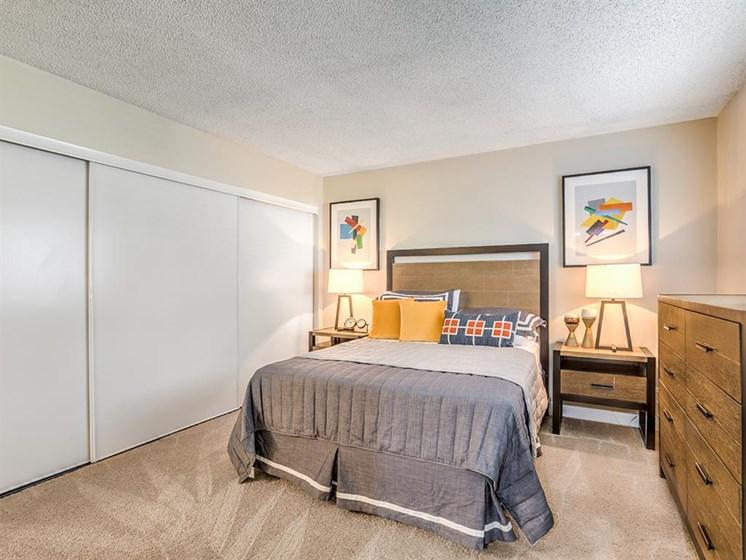 Bedroom With Expansive Windows at The Ashton, Corona, CA, 92879
