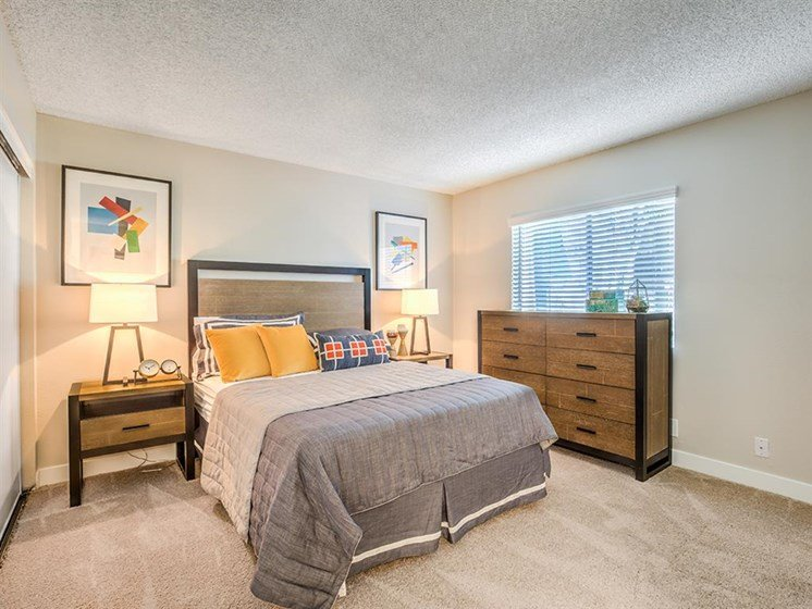 Well Appointed Bedroom at The Ashton, California