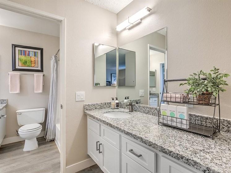 Luxurious Bathroom at The Ashton, Corona, CA