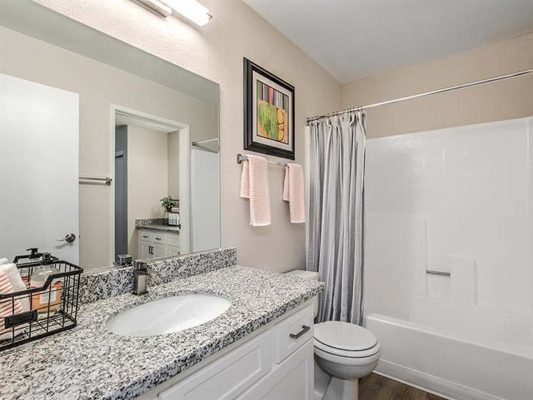 Bathroom With Bathtub at The Ashton, Corona, CA, 92879