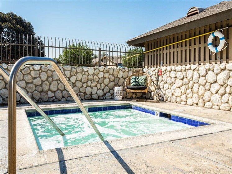 hot tub at The Ashton, Corona, 92879
