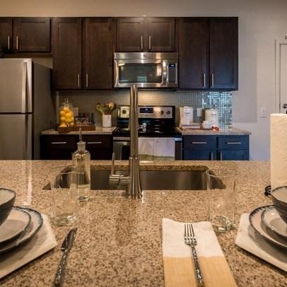 Granite Countertop Kitchen at Allora Bella Terra, Richmond, TX, 77406