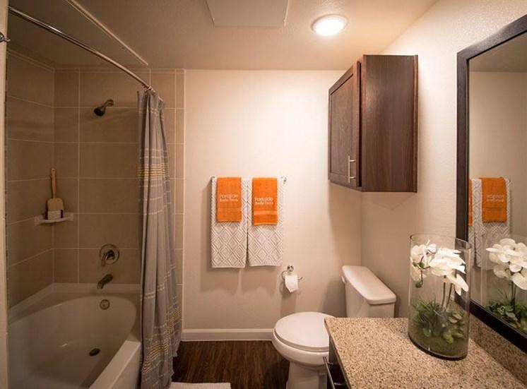 Luxurious Bathroom at Allora Bella Terra, Richmond, Texas