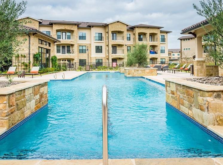 Relaxing Pool at Allora Bella Terra, Richmond, TX