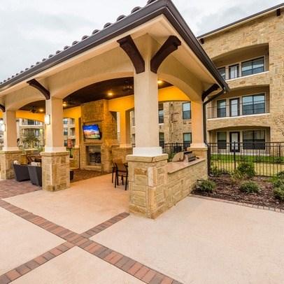 Outdoor Lounge at Allora Bella Terra, Texas, 77406