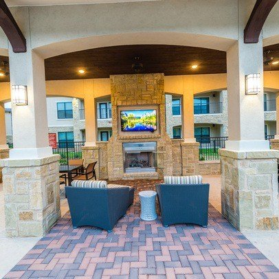 Pool Lounge at Allora Bella Terra, Texas