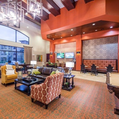 Resident Lounge at Allora Bella Terra, Richmond