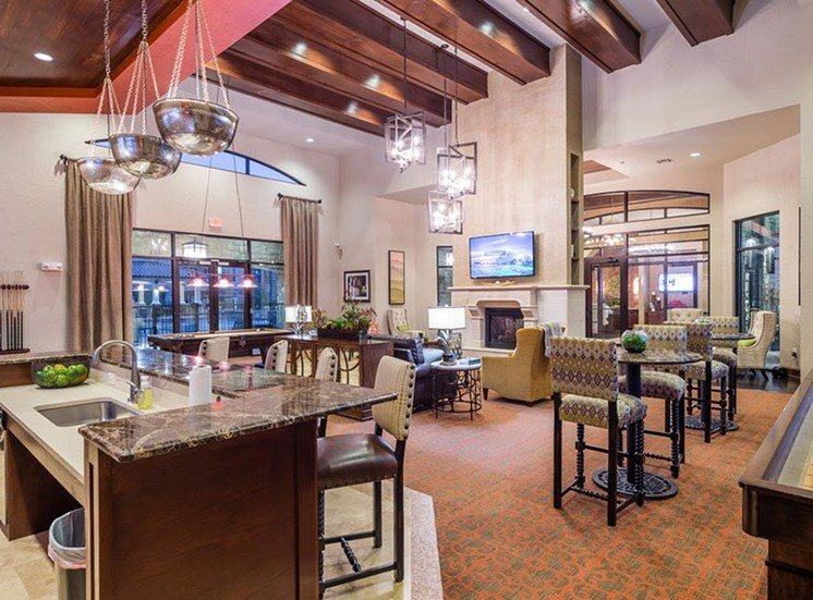 Large Interactive Clubhouse at Allora Bella Terra, Richmond, Texas