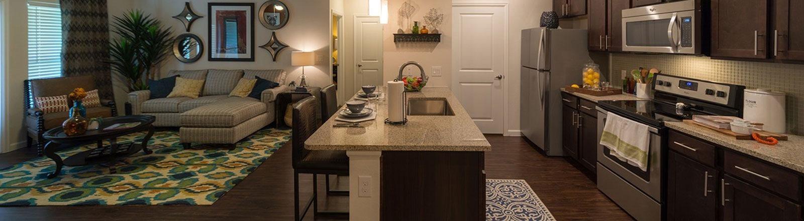 Kitchen Interior at Allora Bella Terra, Richmond, 77406
