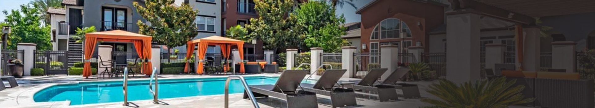 Relaxing Pool Area With Sundeck at Vista Imperio, Riverside, California