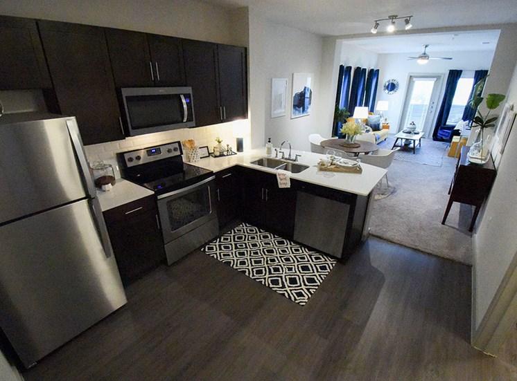 Furnished kitchen model