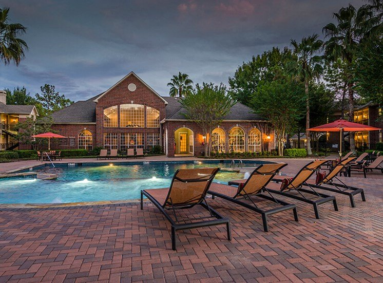 Pool with Lounge Chairs
