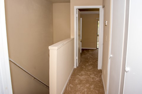 Hallway and Stairway at Laurel Grove Apartment Homes, Florida