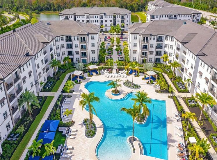 Aerial Photo of Community at Inspira, Naples, Florida