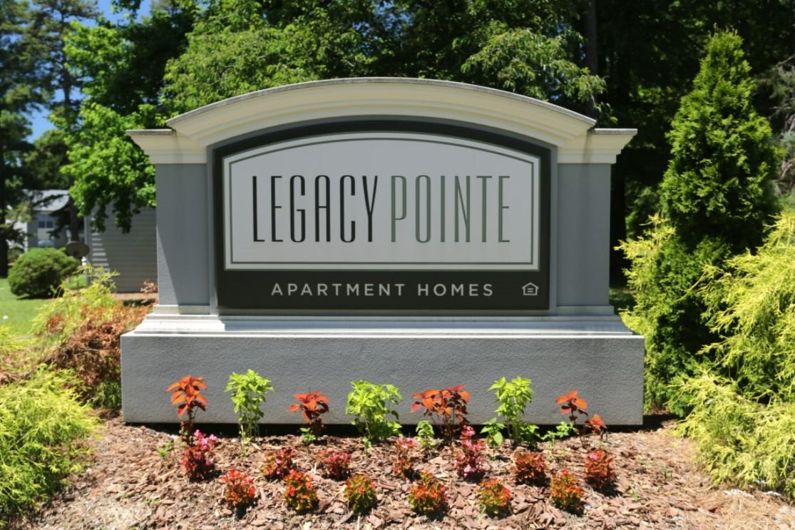 Entrance Sign for Legacy Pointe