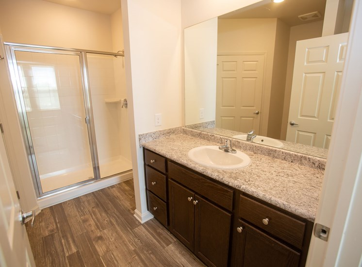 Legacy at Walton Heights Walk-in Shower