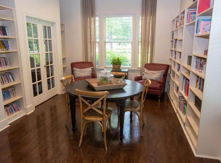 Walton Reserve Apartment Homes Library