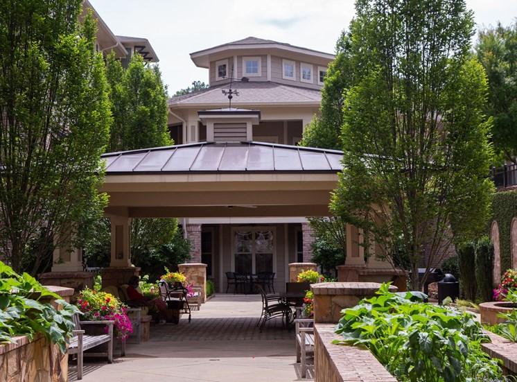 Legacy at Walton Village Apartment Homes, Marietta Ga Gazebo Courtyard