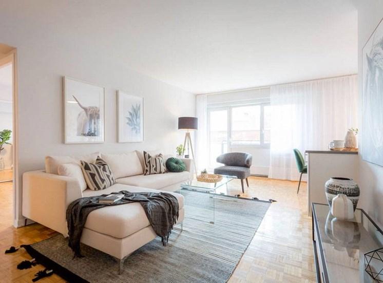 Furnished Living Room at Hill Park, Quebec, H3V 1G1