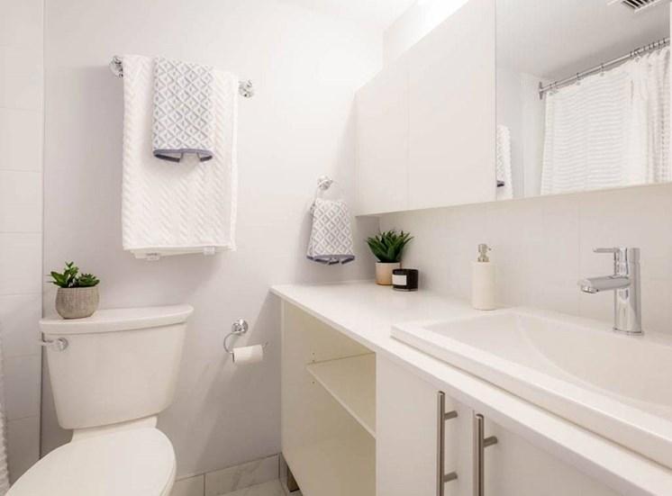 Bathroom at Hill Park, Quebec, H3V 1G1
