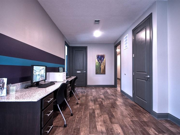 apartment office area