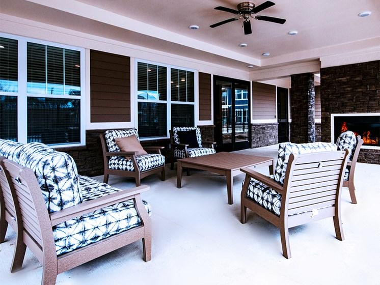 outdoor resident patio