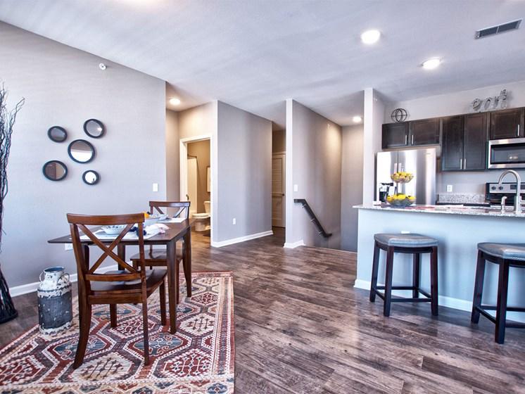 Apartments in Goshen - spacious apartments with hardwood floors