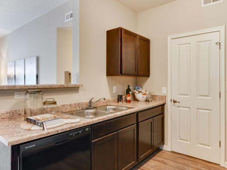 Austin Place Apartment Kitchen