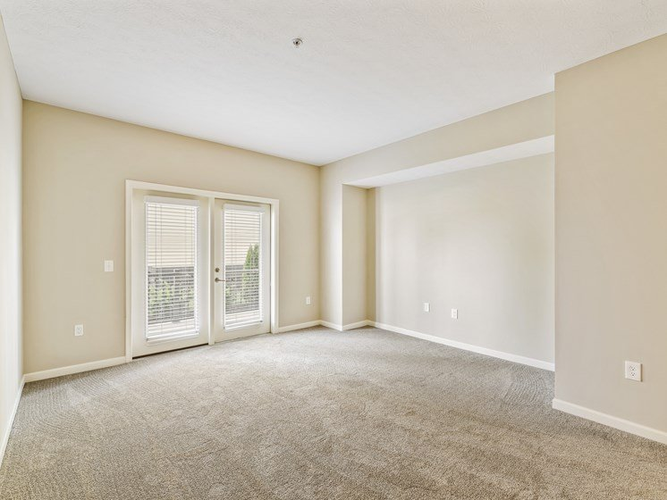 Large Spacious Living Room In Winchester Floor Plan at Austin Place Apartments