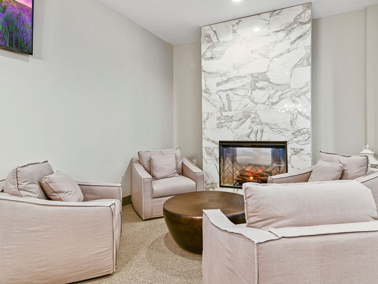 Clubroom at Austin Place Apartments