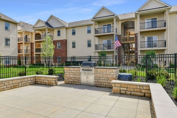 Grilling Area at Austin Place Apartments