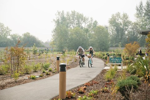 Brookville Community Gardens Bike Trail- Fun for the whole family!