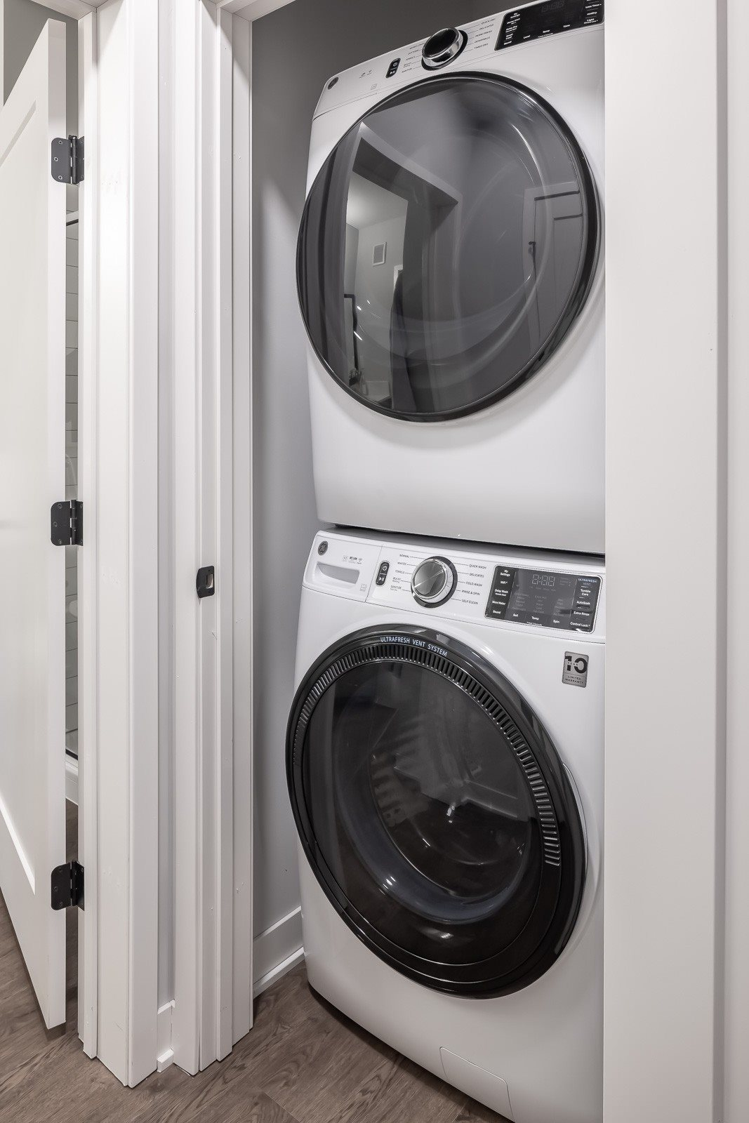In-Unit front load washer dryer in every apartment